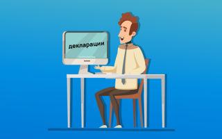 Как подавать декларацию ип: образец заполнения формы, какие нужны документы