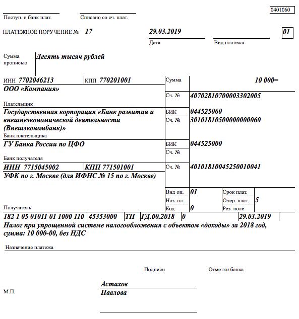 Код КБК для ИП на УСН доходы и расходы: что это за код, где его указывают